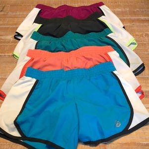 5 pairs of athletic shorts